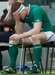 Brian O Driscoll Ireland sin binned 2013