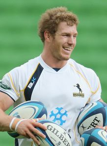 David Pocock Brumbies training 2013