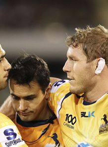 David Pocock Injured Brumbies