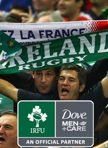 Dove comp Ireland France fans