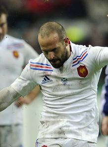 France v Scotland Frederic Michalak kicks