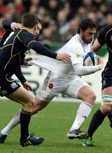 France v Scotland Maxime Medard