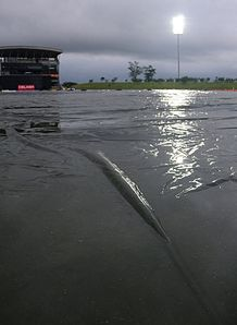 Heavy rain led to the abandonment of Sri Lanka's clash with Bangladesh