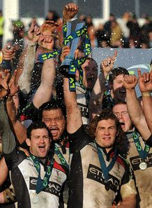 LV= Cup final: Conor O'Shea reflects on Harlequins' win over Sale Sharks