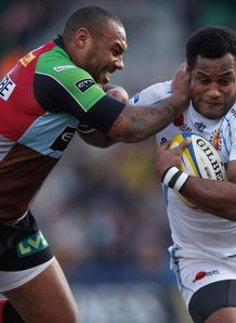 Harlequins v Exeter Jordan Turner Hall Sireli Naqelevuki