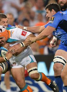 Heinrich Brussow Cheetahs v W Force 2012