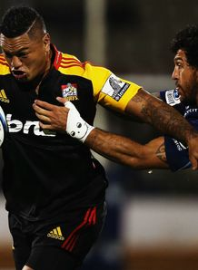 Hika Elliot Chiefs Rene Ranger Blues Super Rugby