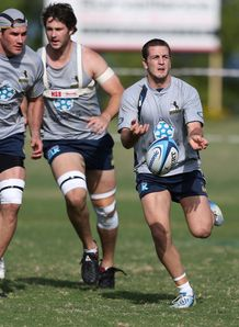 Ian Prior Brumbies training 2013