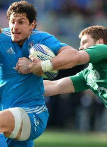 Alessandro Zanni Iain Henderson Italy v Ireland