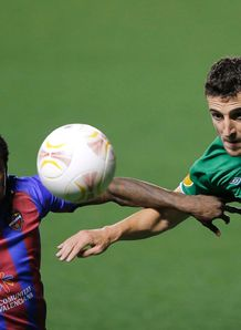 Europa League: Both sides finish with ten men as Levante and Rubin Kazan draw 0-0
