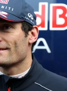 Red Bull's Mark Webber set the pace in opening practice for the Malaysian GP