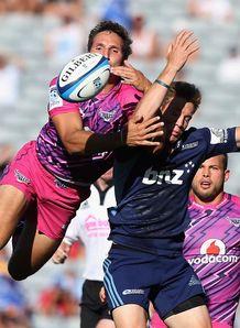 Marty McKenzie Jurgen Visser Super Rugby Blues Bulls