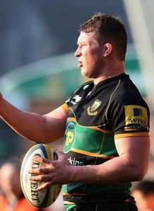 Northampton v London Irish Dylan Hartley