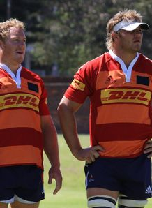 Patric Cilliers and Duane Vermeulen
