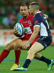 Quade Cooper v James O Connor Reds v Rebels 2013