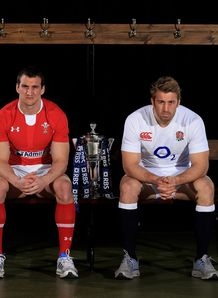 Sam Warburton and Chris Robshaw sat down