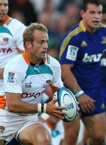 Sarel Pretorius Cheetahs highlanders 2013