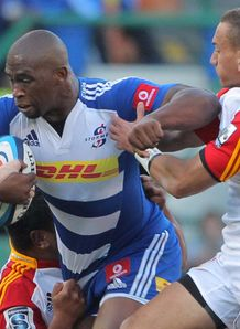 Siya Kolisi Stormers v Chiefs SR 2013