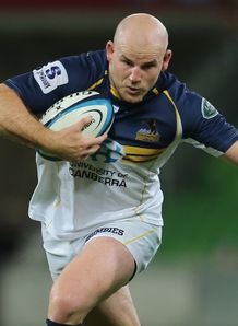 Stephen Moore Brumbies v Rebels 2013