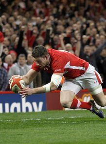 alex cuthbert wales v england 2013