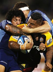 Hika Elliot chiefs v blues