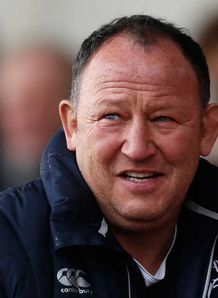 Sale Sharks boss Steve Diamond happy with the win at Gloucester