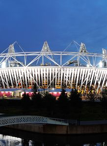 Olympic Stadium ipad takeover