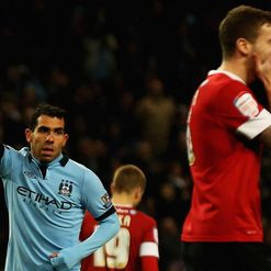 Tevez: His poor overworked hammies