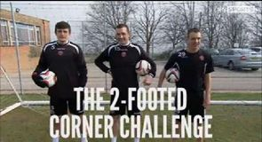 Two Footed Corner Challenge - Sheff Utd