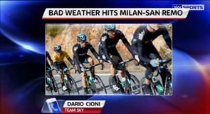 Weather halts Milan-San Remo