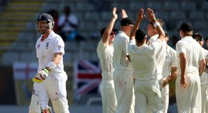 Bell: One of many English batsmen to struggle on day three