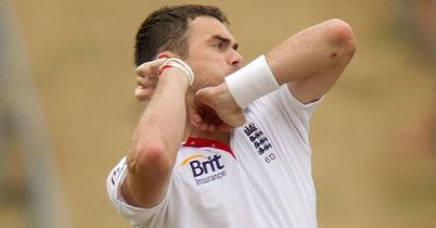 James Anderson: has taken 12 five-fors in his 79 Test matches for England