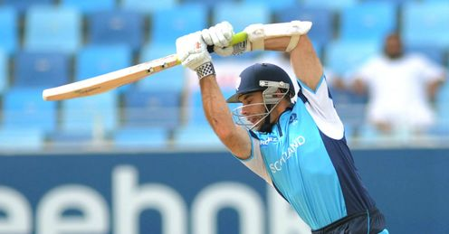 Kyle Coetzer Scotland v Canada World Twenty20 qualifier Dubai