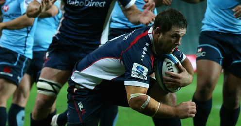 Ged Robinson Waratahs v Rebels Round three 2013