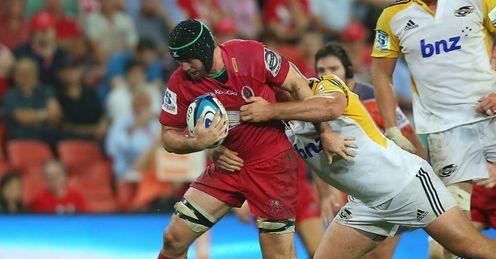 Liam Gill Reds v Hurricanes Round Three 2013