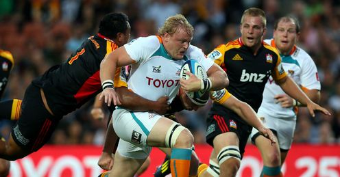 Adriaan Strauss Chiefs v Cheetahs Round Three 2013