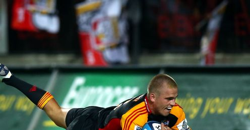 Gareth Anscombe Chiefs v Cheetahs Round Three 2013