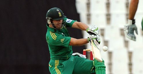 AB de Villiers South Africa v Pakistan 2nd T20 Centurion