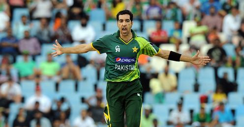 Umar Gul Pakistan v South Africa 2nd T20 Centurion