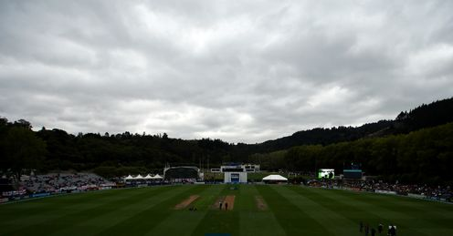 University Oval Dunedin New Zealand v England 1st Test day 1