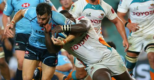 Adam Ashley Cooper Waratahs v Cheetahs round 5 2013