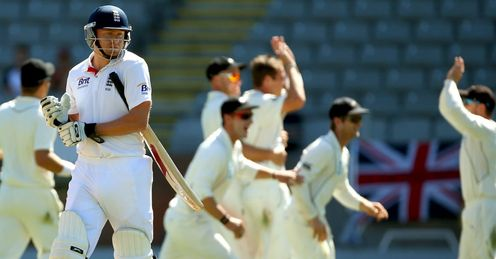 Jonny Bairstow: failed to make his mark in the third Test against New Zealand