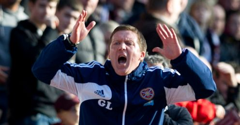 Locke: faces a tall order at Hearts this season, says Andy Walker