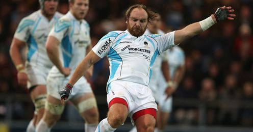 Andy Goode Worcester 2013