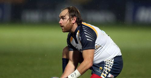 Andy Goode Worcester Warriors 2012