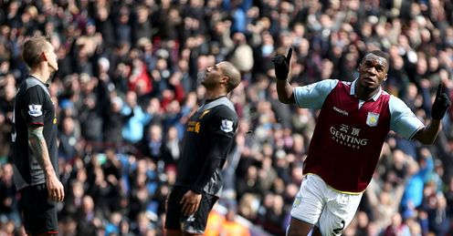 Christian Benteke: Will he still be a Villa player when they face Liverpool in August?