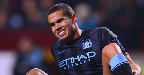 Aston Villa v Manchester City Jack Rodwell injured