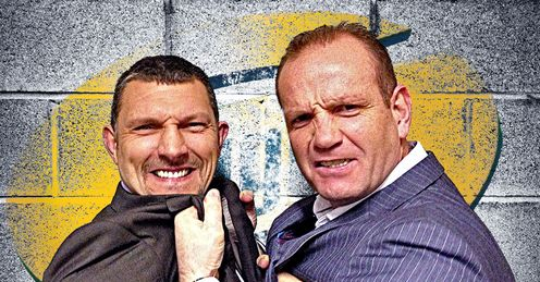 Barrie McDermott and Terry O'Connor go head-to-head