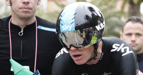 TEAMSKY2012 Chris Froome Tirreno