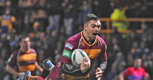 Danny Brough Huddersfield Giants v Leeds Rhinos Super League